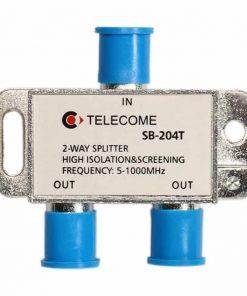 کننده انشعابی تله کام  راهSB  T دو راه TELECOME