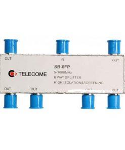 کننده انشعابی تله کام  راهSB  FP splitter شش راه TELECOME