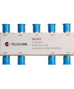 کننده انشعابی تله کام  راهSB  FP splitter هشت راه TELECOME