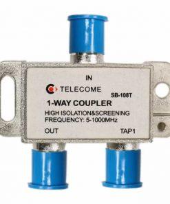 کننده عبوری تله کام  راهSB  T Tap Off یک راه TELECOME