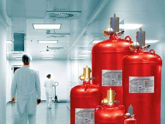 سیستم اطفاء حریق اتوماتیکگازی آیروسل