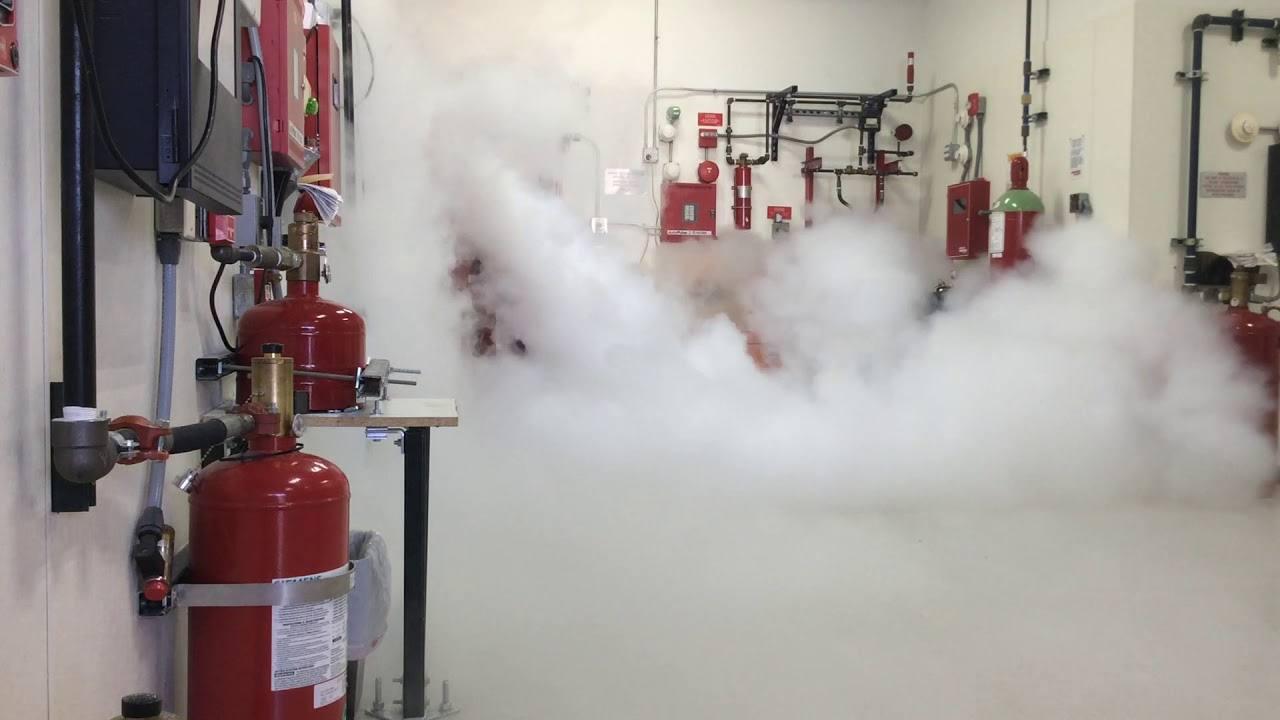 سیستم اطفاء حریق اتوماتیکCO2