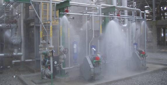 سیستم اطفاء حریق اتوماتیکwater mist