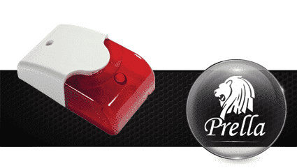 آژیر فلاشر XR1100 اعلام حریق پرلا