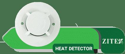 دتکتور حرارتی سیستم اعلام حریق زیتکس